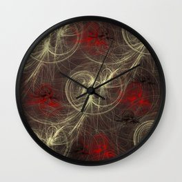 abstract colored background Wall Clock