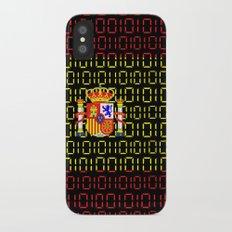digital Flag (spain) iPhone X Slim Case