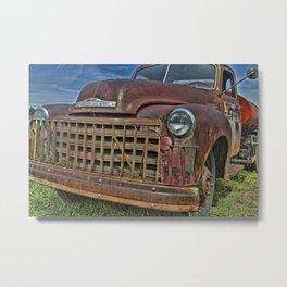 Old Tanker Truck Metal Print