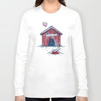 home sweet home Long Sleeve T-shirts featuring Home Sweet Home by Nick Volkert