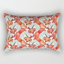 Fox Lattice  Rectangular Pillow