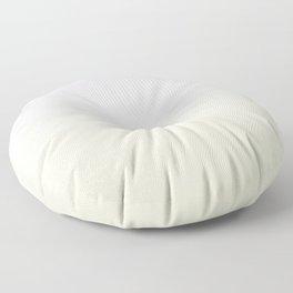 Gradient of dusty pink and cream. Floor Pillow