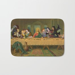 Tax Collectors and Sinners: Pop Culture Last-Supper Bath Mat