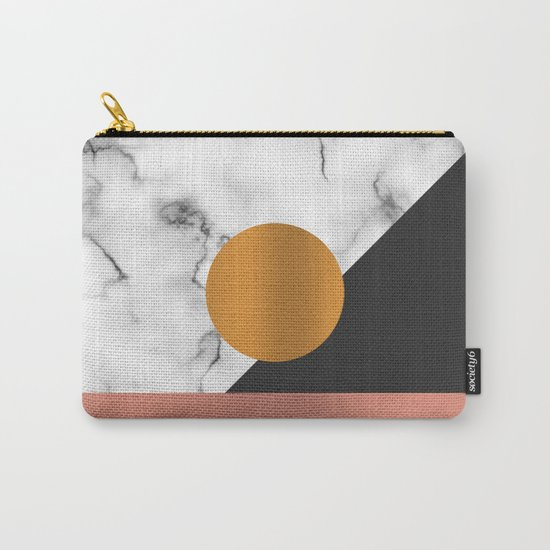 Marble & metals Carry-All Pouch
