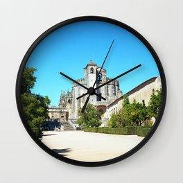 Portugal, Tomar (RR 188) Analog 6x6 odak Ektar 100 Wall Clock