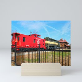 Hamlet Train Depot And Museum Mini Art Print