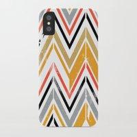 herringbone iPhone & iPod Cases featuring herringbone by Emmy Winstead