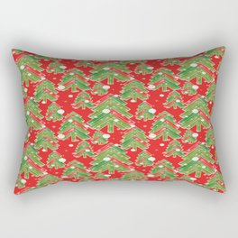 Christmas tree 2 Rectangular Pillow