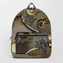 Steampunk, motorcycle Backpack