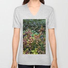 Floral Print 046 Unisex V-Neck