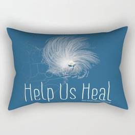 Help Us Heal - Hurricane Sandy Relief Rectangular Pillow