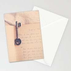 Key to Your Heart Stationery Cards