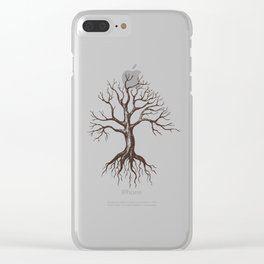 Bare tree Clear iPhone Case