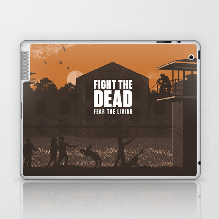 The Walking Dead Prison Walkers Laptop & iPad Skin