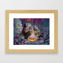 Talitha and Nihal Framed Art Print