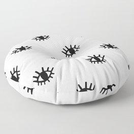 Open Eyes Floor Pillow
