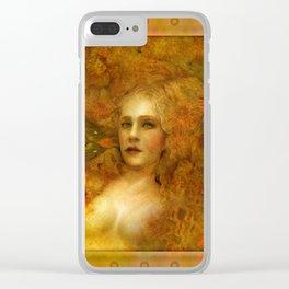 """Ofelita de Oro"" (From ""Death, Life, Hope"") Clear iPhone Case"