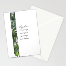 Growing lemons Stationery Cards