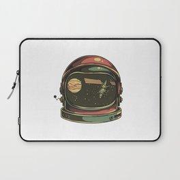 astronaut viewed Laptop Sleeve