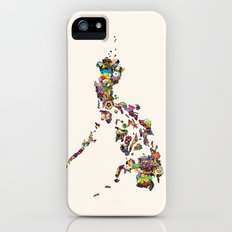 7,107 Islands   A Map of the Philippines Slim Case iPhone (5, 5s)