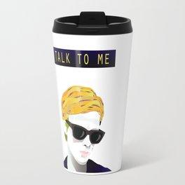 Bergman - Talk to Me Travel Mug