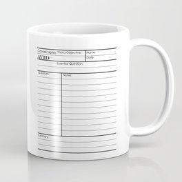 Cornell Notes Coffee Mug