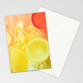 Oily bubbles Stationery Cards