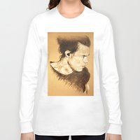 harry styles Long Sleeve T-shirts featuring Harry Styles by Drawpassionn