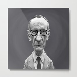 William Burroughs Metal Print
