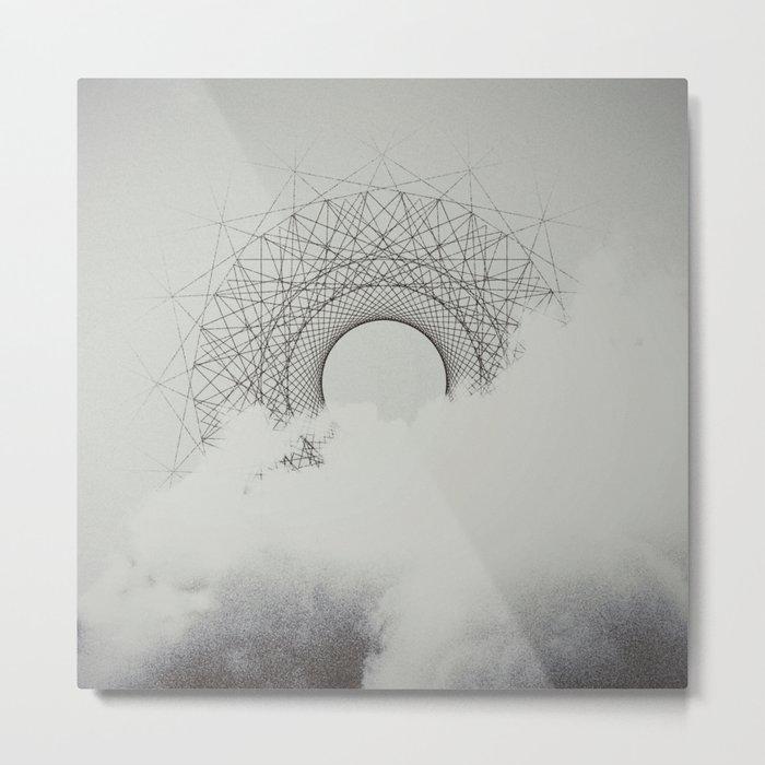 The Invisible Spectrum Metal Print
