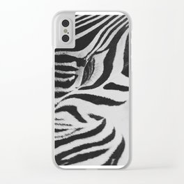 Black & White Clear iPhone Case