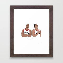 Kyle & DeMar Framed Art Print