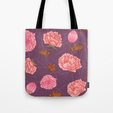 Carnations & Crickets Tote Bag