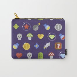 Video Game Universe Pattern Carry-All Pouch