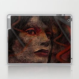 Shell - Cyborg Portrait Laptop & iPad Skin