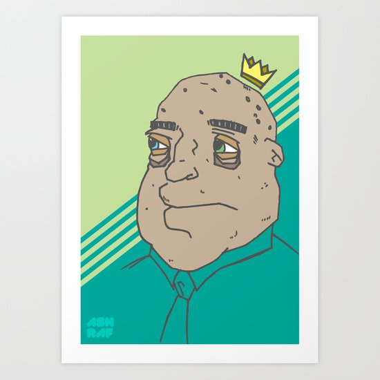 King Sh... Art Print