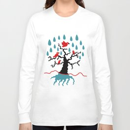 Birds in the trees Long Sleeve T-shirt