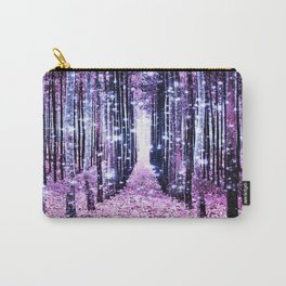 Magical Forest Path Lavender Pink Periwinkle Carry-All Pouch