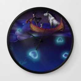 Traveling The World Wall Clock