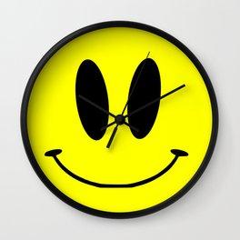 acid face Wall Clock