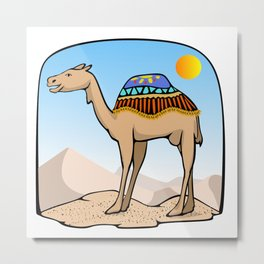 Exalted Camel Metal Print