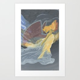 Monster of the Sky Art Print