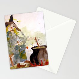 A Witch called Zee Stationery Cards