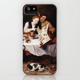 Hieronymus Bosch - The Bacchus Singers iPhone Case