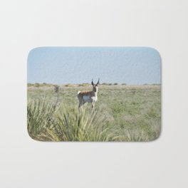 Pronghorn Antelope Bath Mat