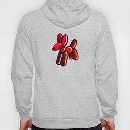 Balloon Animal - Dog (red) Hoody