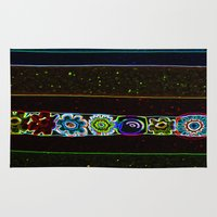 starry night Area & Throw Rugs featuring Starry Starry Night by Lior Blum