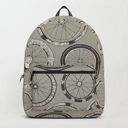 bike wheels stone Backpack