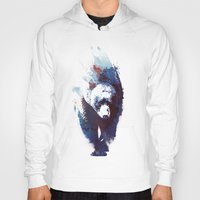 death Hoodies featuring Death run by Robert Farkas