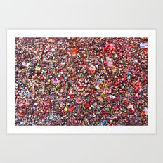 Bubblegum Alley V Art Print